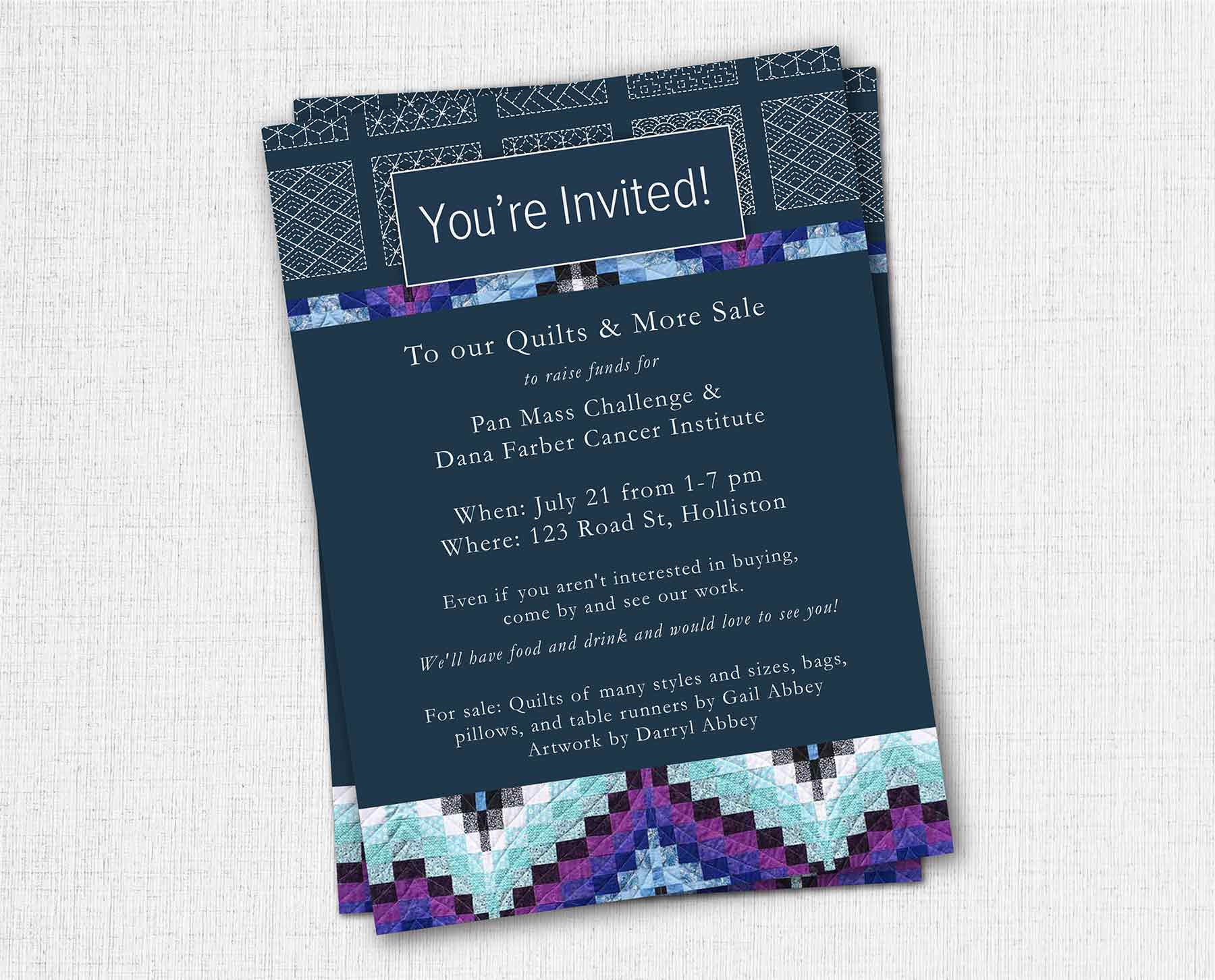 BRANDING, PRINT MARKETING, INVITATION