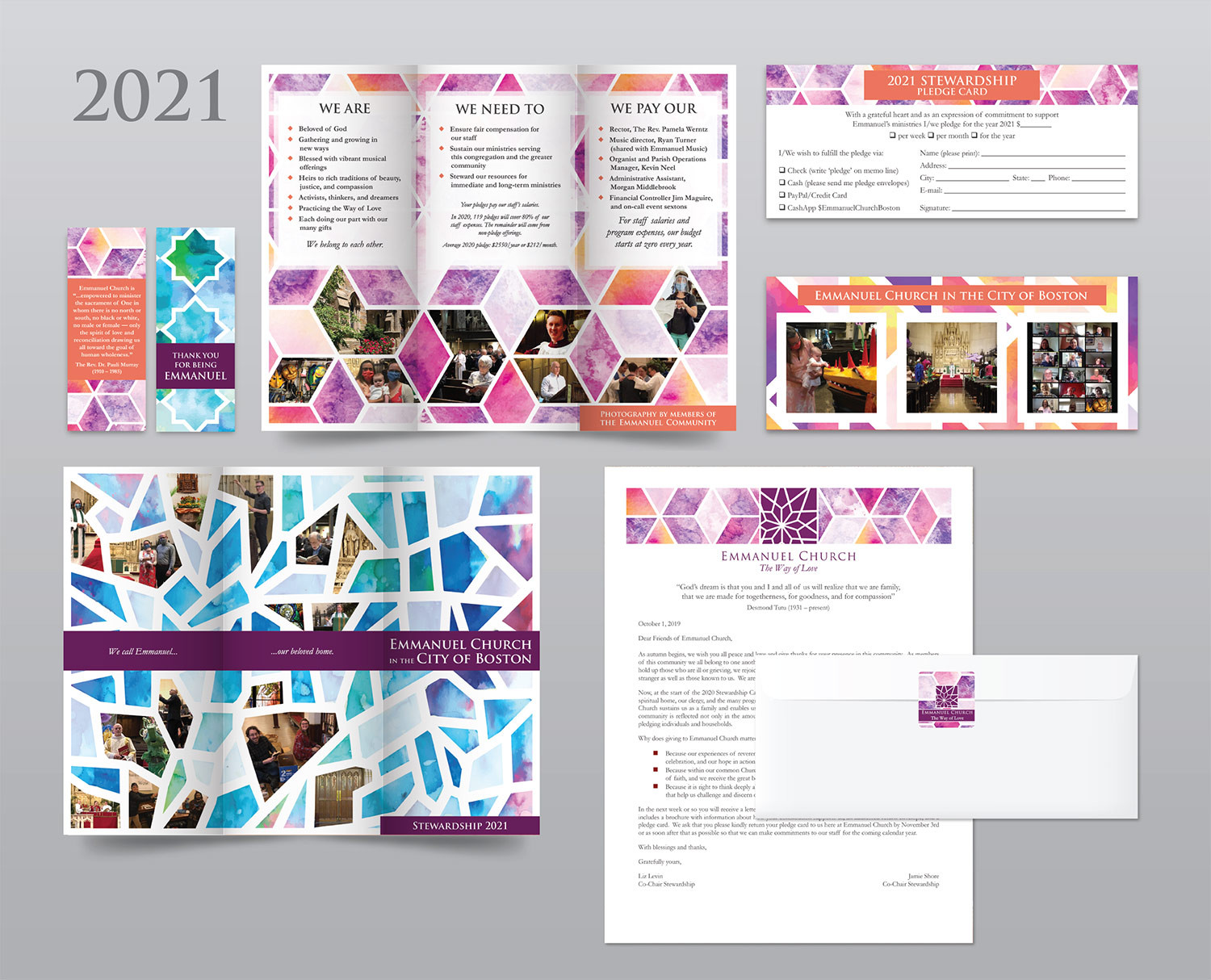 STEWARDSHIP CAMPAIGN, FUNDRAISING, PRINT DESIGN