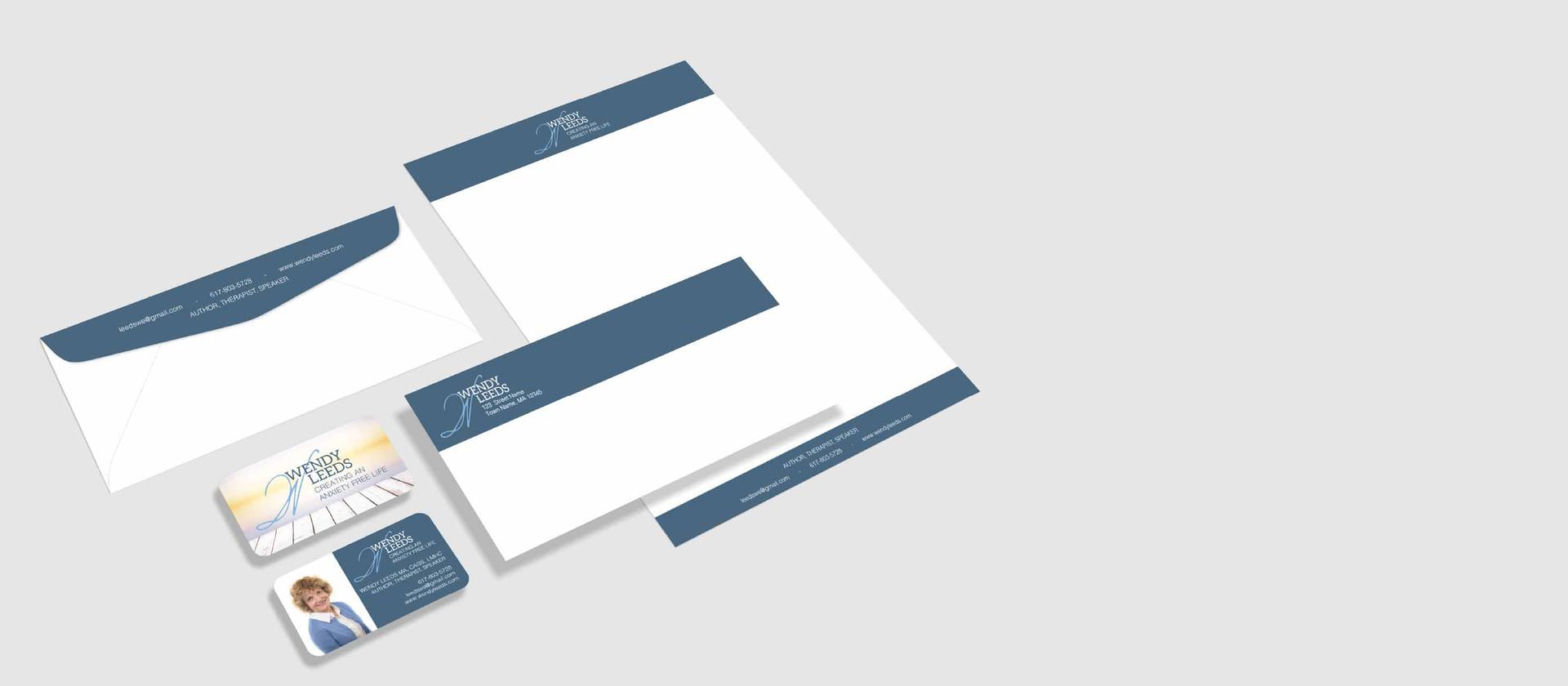 print suite business cards, envelopes, letterhead