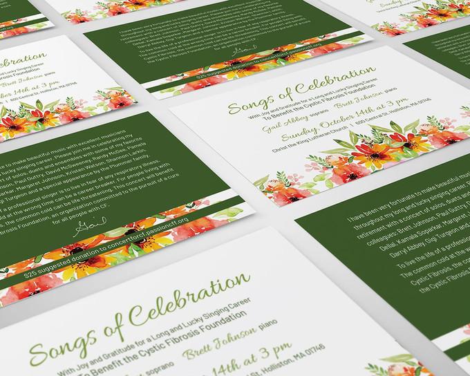 EVENT BRANDING, INVITATION, PRINT DESIGN