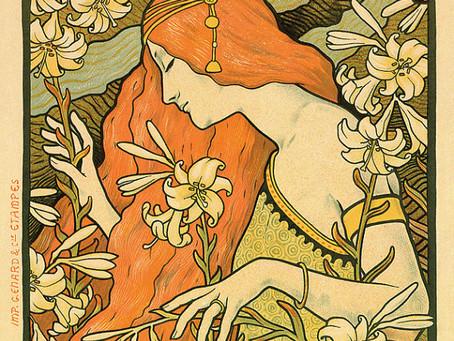 Art in Advertising: Art Nouveau