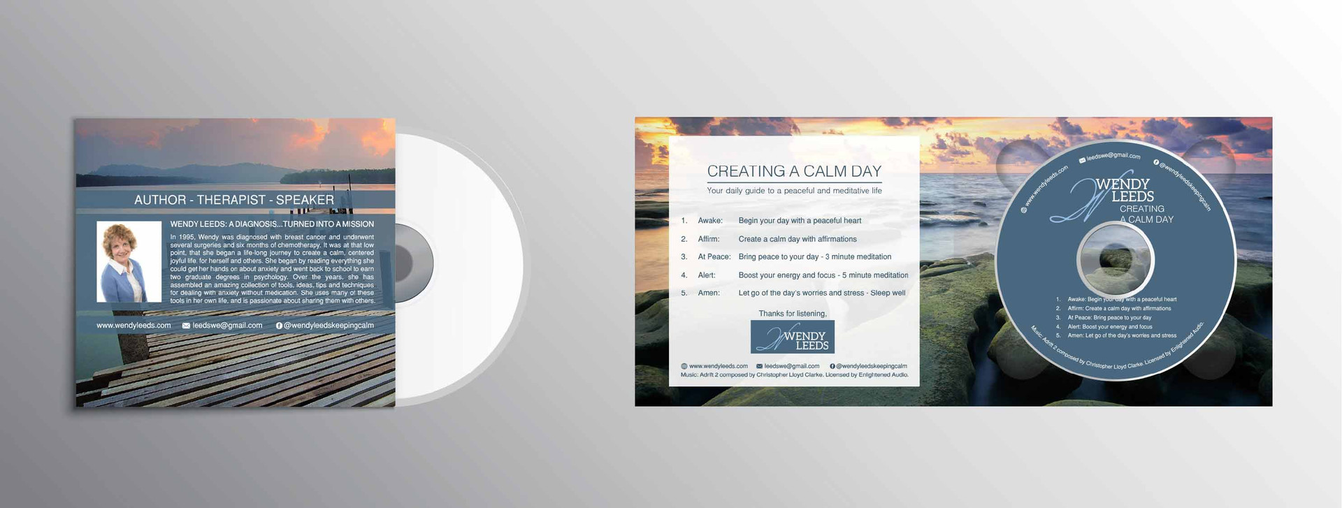 cd back cover and inside