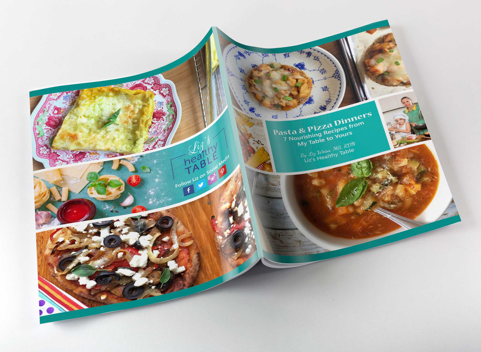 COOK BOOK, PRINT DESIGN