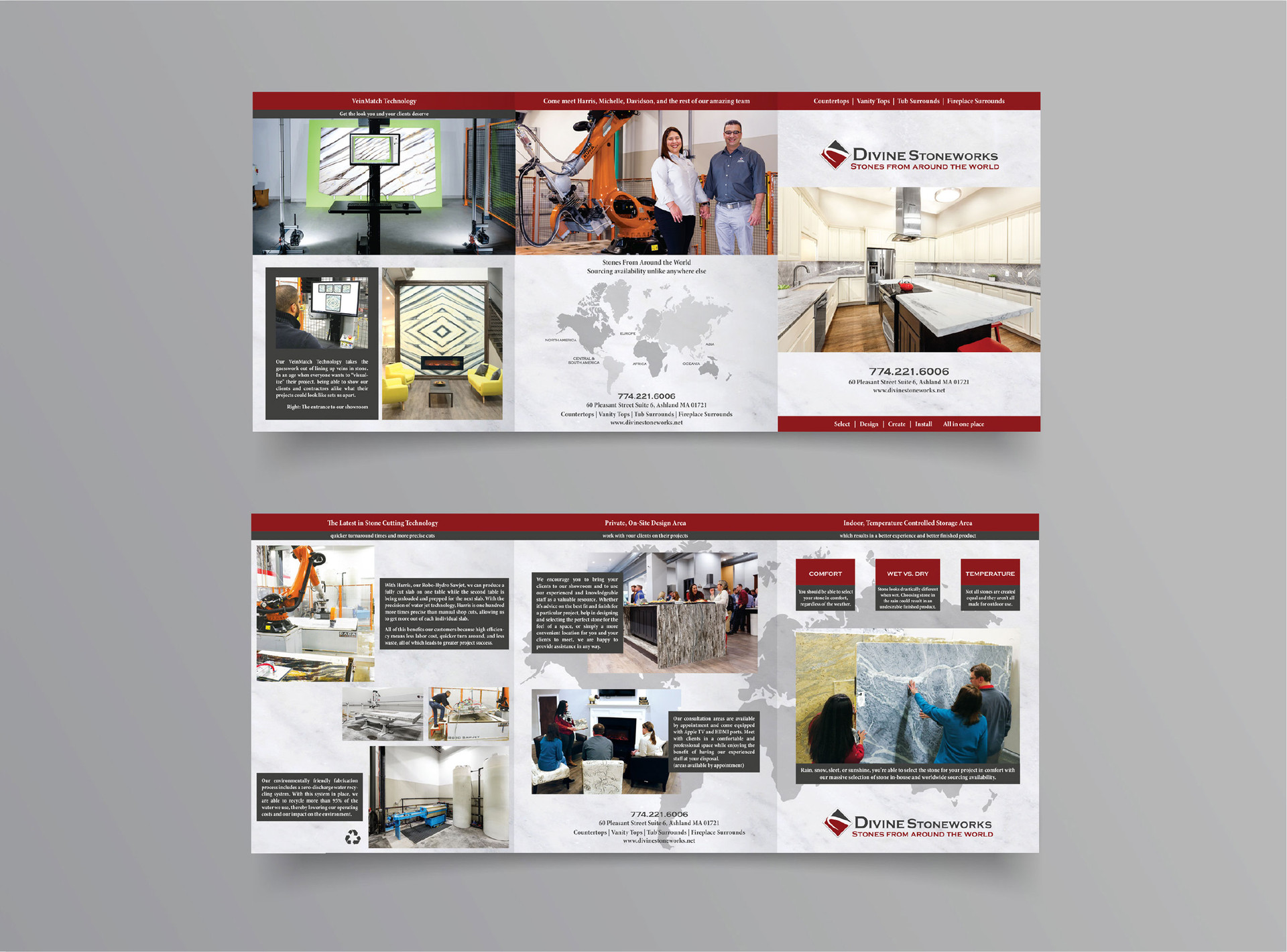 large trifold