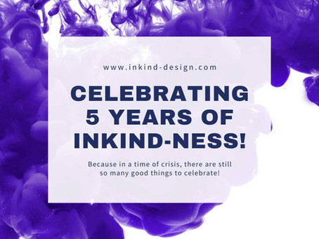 Celebrating 5 Years of Inkindness