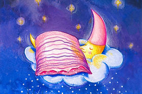 Sleeping moon insomnia Wendy Leeds artice thumbnail