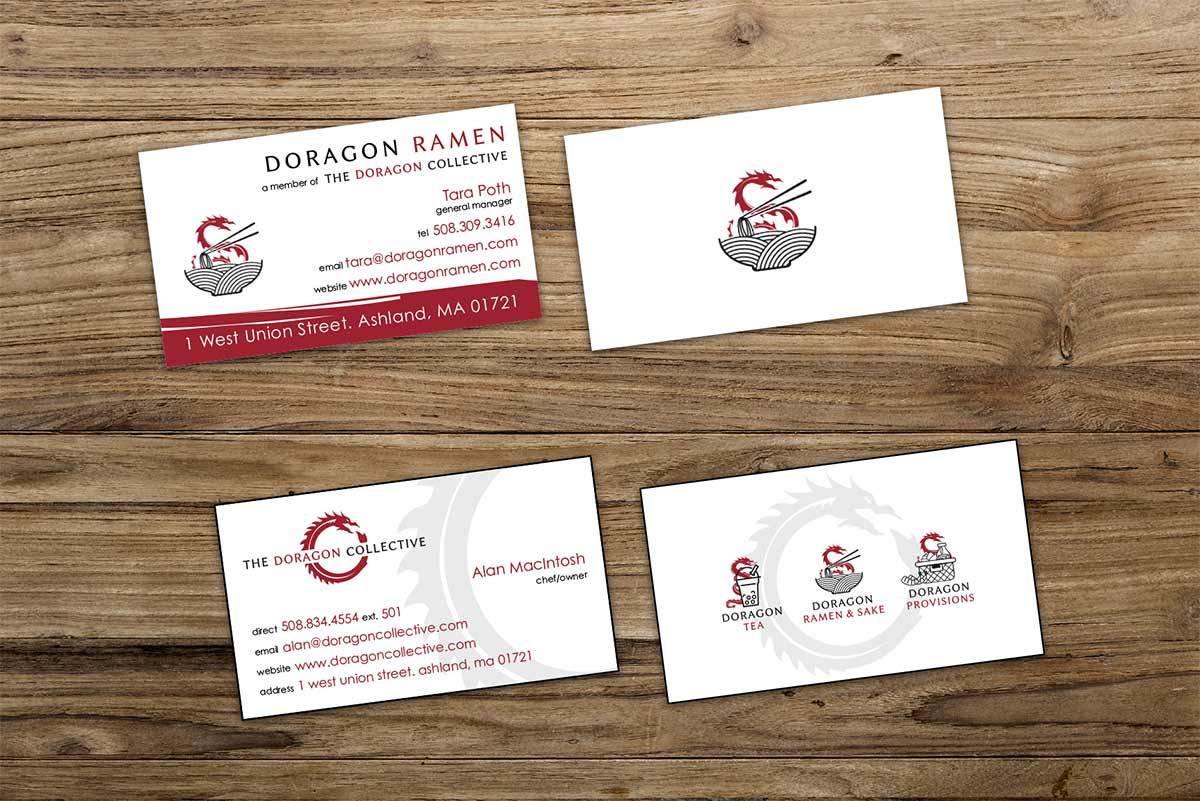 brand design, brand strategy, print design, business cards