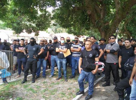 Policiais Penais do Pará realizam grande manifestação pela valorização da Polícia Penal