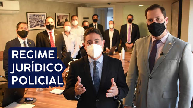 EMENDA DO RJP DO DEPUTADO NICOLETTI ABRANGERÁ TODAS AS CATEGORIAS  POLICIA DA AREA CIVIL