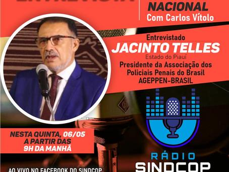 PRESIDENTE DA AGEPPEN-BRASIL SERÁ ENTREVISTADO NA RÁDIO SINDCOP