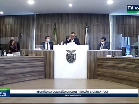 CCJ aprova por unanimidade PEC estadual da Polícia Penal