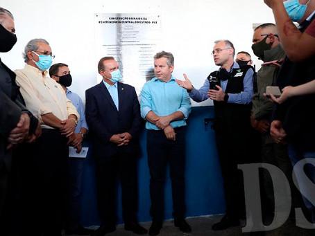 MINISTRO AVALIA QUE NOVO RAIO DA PCE É MUDANÇA DE PARADIGMA NO SISTEMA PRISIONAL