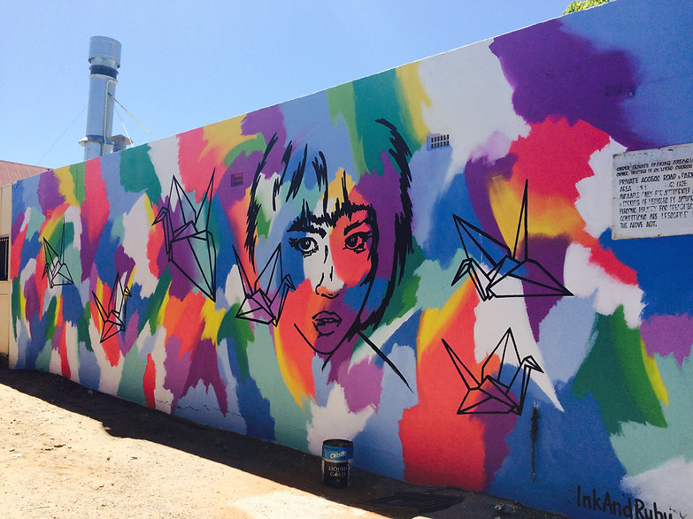 Vietnamese Laundry Mural Sturt Street Adelaide