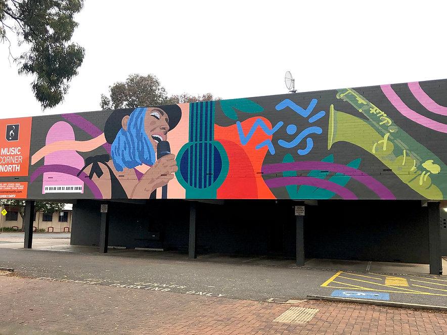 Music Corner Mural
