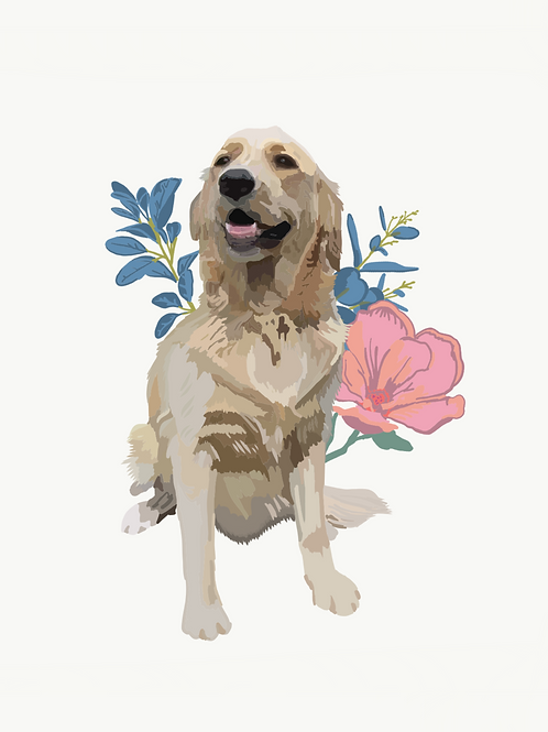 DIGITAL PET PORTRAIT