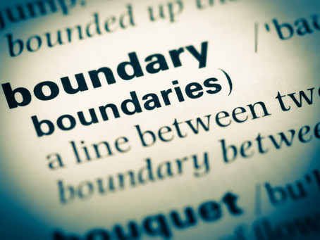 What is a boundary and how do I get one?