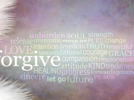 Forgiveness…do we even need it?