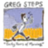 Greg Steps, cover art, album art, Early Hours of Morning, milkman, milk bottle