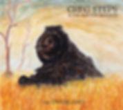 Greg Steps, cover art, the Overland, EP, album art, train, tree, desert