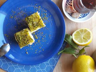 Le revani, le gâteau de semoule turc - notre version vegan !