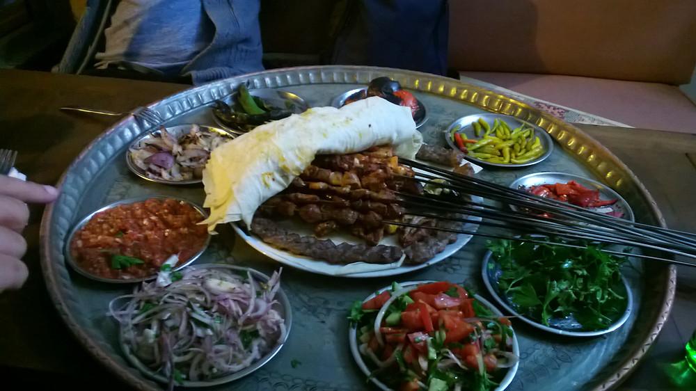menu dégustation chez Bilice kebap