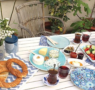 livraison petit-déjeuner turc