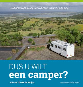 Het boek DUS U WILT een camper? is te koop via de webwinkel.