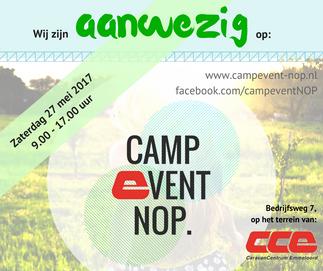 Campevent NOP zaterdag 27 mei 2017
