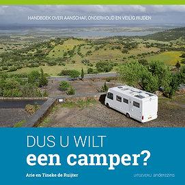 Boek DUS U WILT een camper?