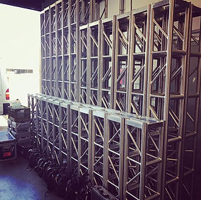 Busy day in the #shop as our team continues to offload from last weekends shows while star