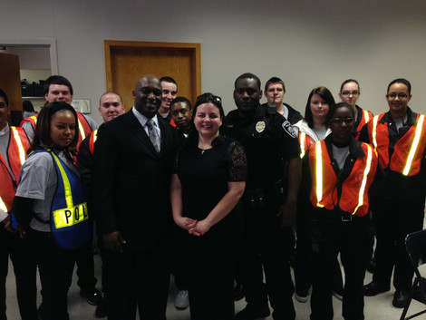 Mentoring future police officers