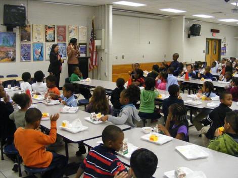 Volunteering in our schools