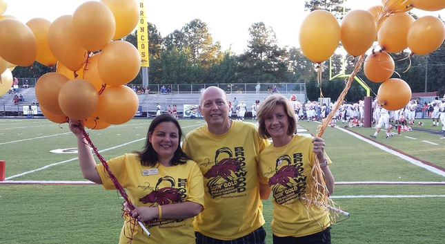 Amanda Riley Childhood Cancer Awareness Month