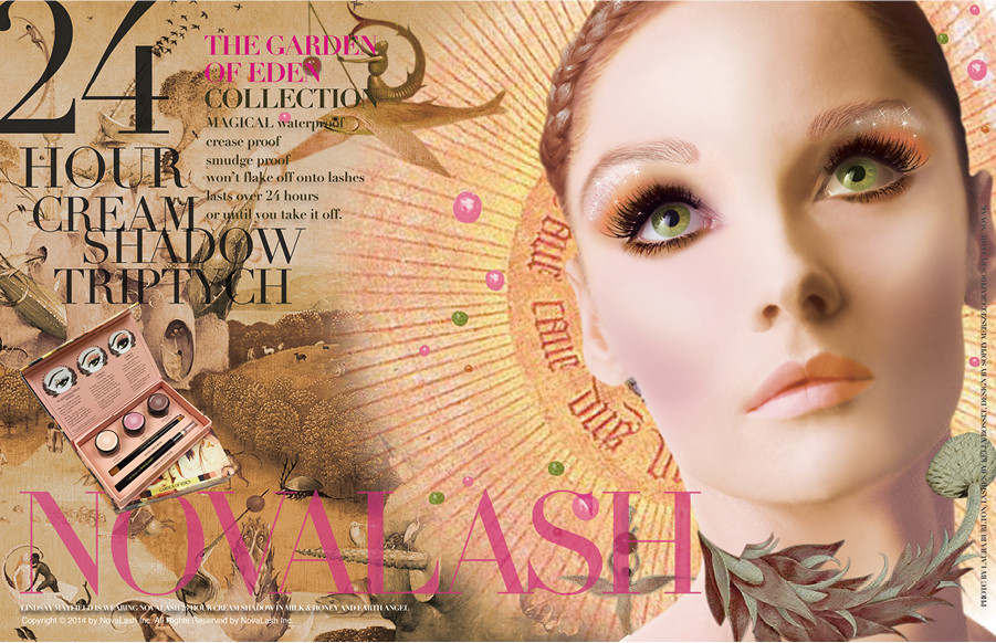 #Novalash #24 hour cream shadow #long wear makeup