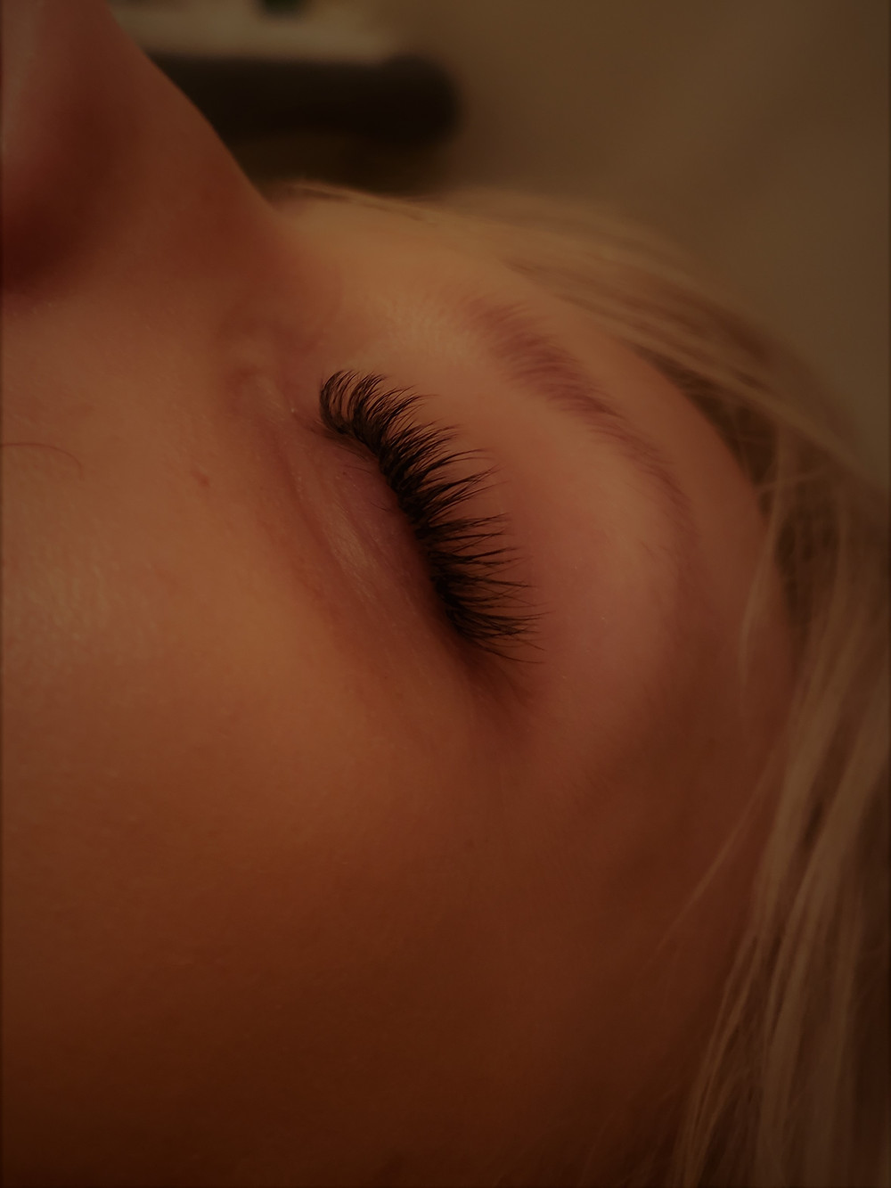 volume lashes bold & #natural