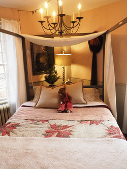Bed in Front Bedroom