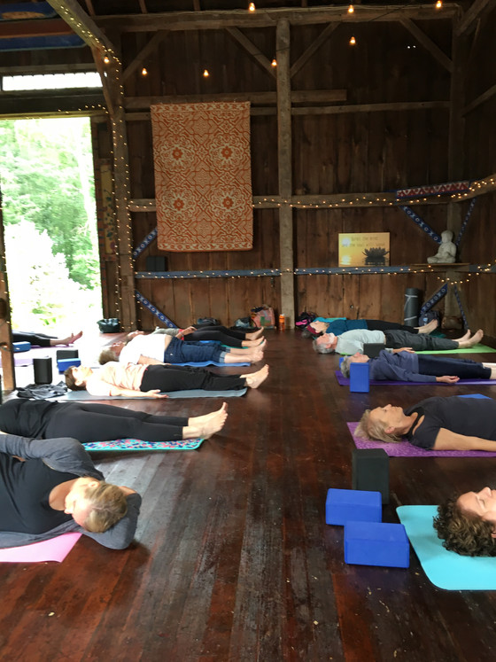The yin and the yang of life... and Yoga in the Barn