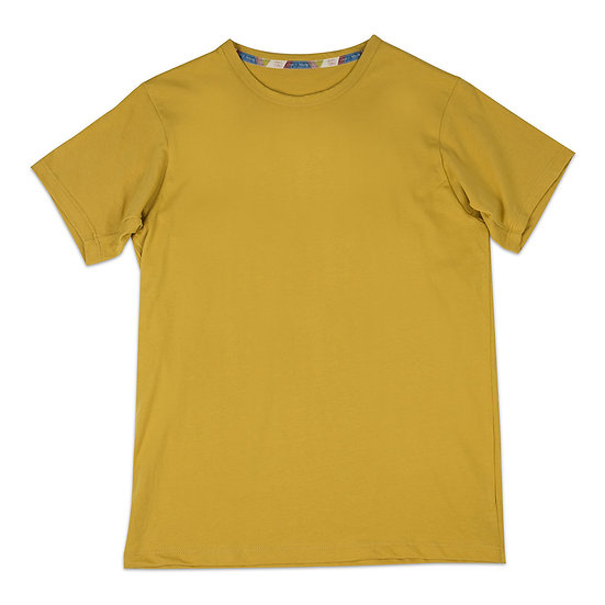 Antique Yellow Supima Cotton T-Shirts