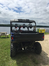 Four Wheeling and fishing all day.