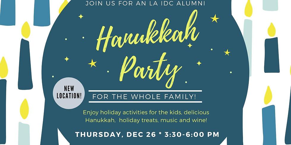 Celebrate Hanukkah with the LA IDC Alumni & families!