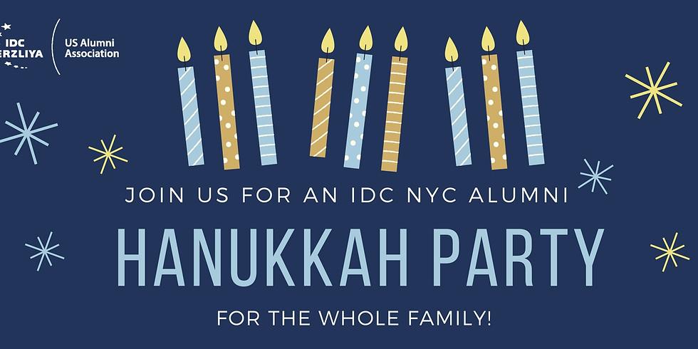 NY IDC Alumni presents: Family Friendly Hanukkah Party!