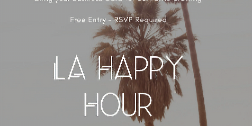 IDC ALUMNI HAPPY HOUR in LA