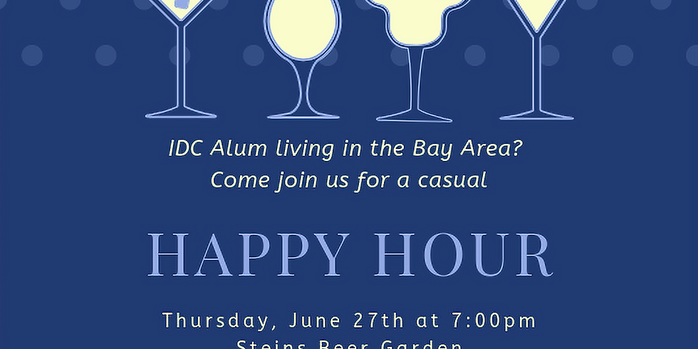 IDC Alumni- Bay Area Happy Hour