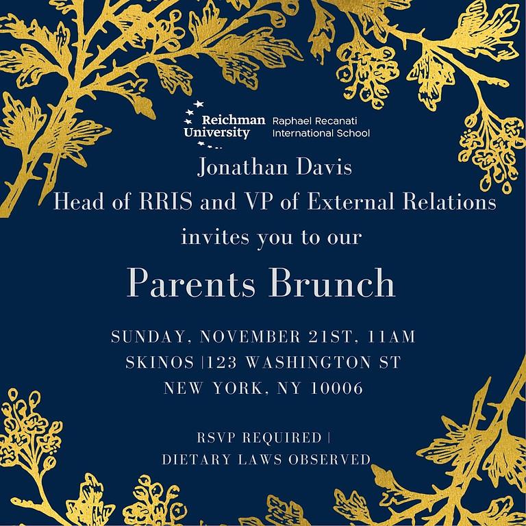 RRIS NYC Parents Brunch