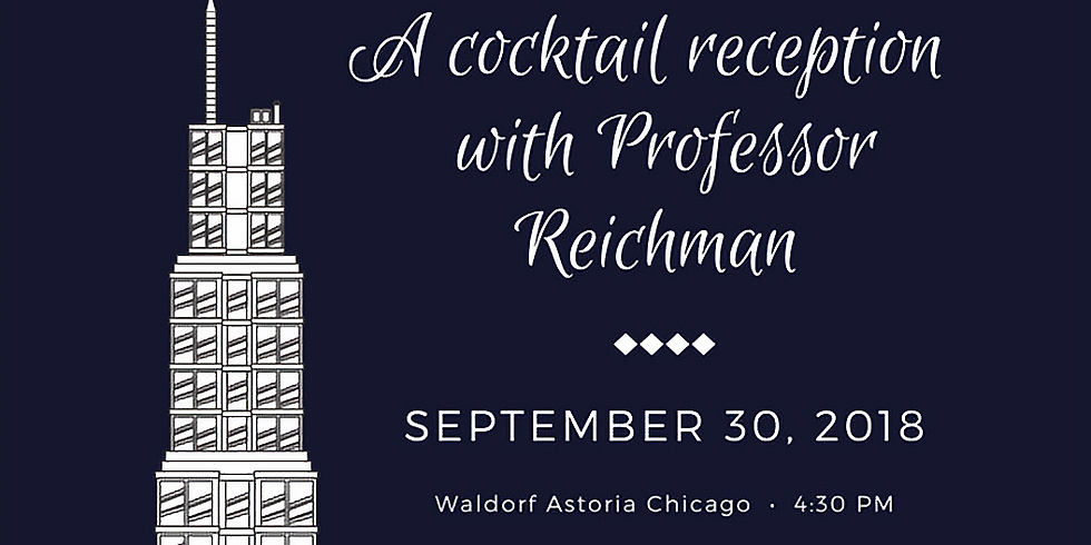Cocktail Reception with Professor Reichman