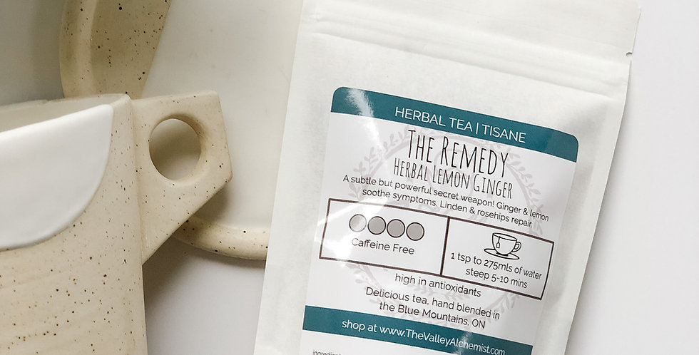 The Remedy - Herbal Loose Leaf Tea