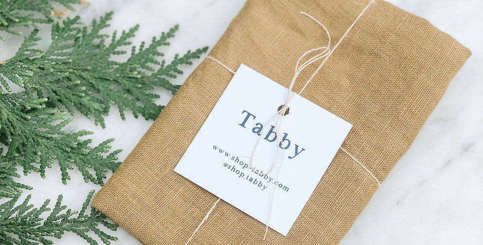 Linen Tea Towel - Dijon