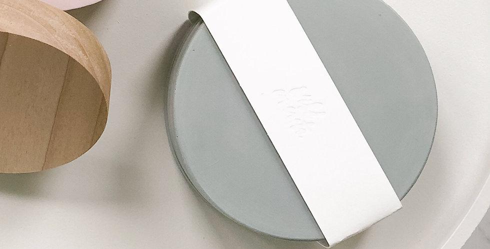 Concrete Coasters - Mint, Set of 4