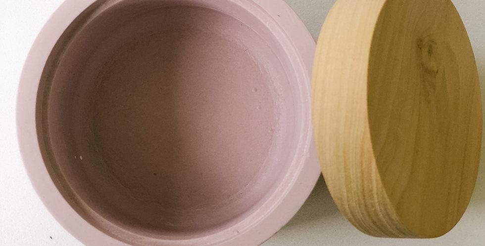 Concrete Bowl - Blush