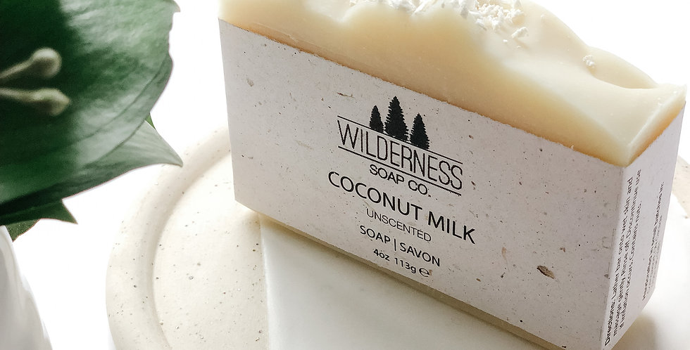 Coconut Milk SoapBar